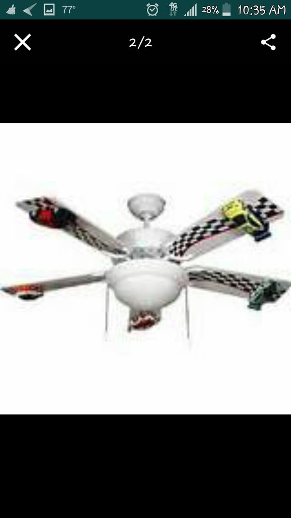 Race Car Ceiling Fan 5 Blade Brand New In Box For Bradenton Fl Offerup