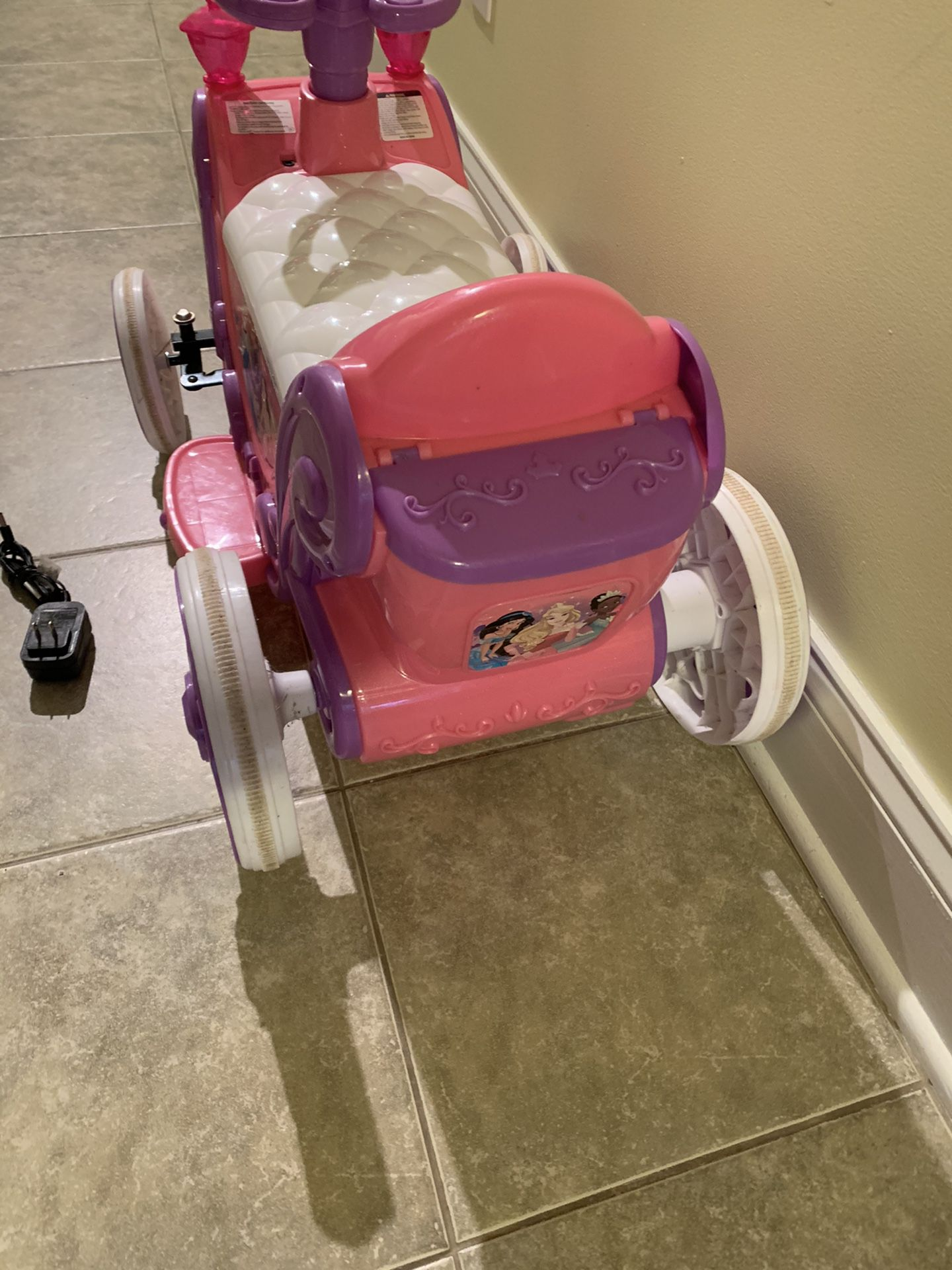 6 Volts Power Wheels With NEW Battery