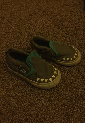Toddler Boy s Shark Vans for Sale in Oceanside 1dddec568