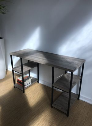 WestElm wood desk for Sale in San Francisco, CA