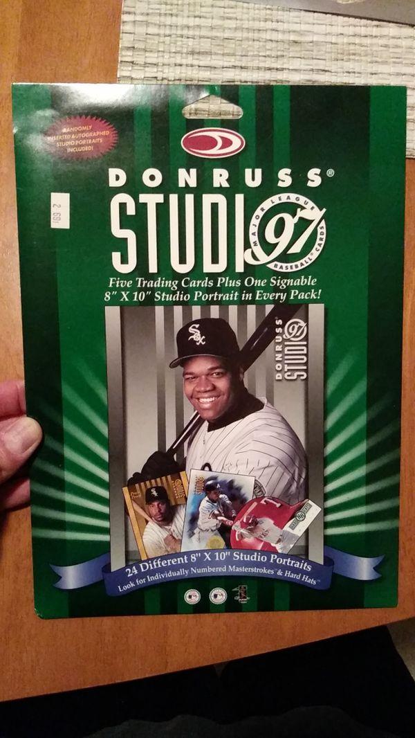 1997 Donruss Studio Pack For Sale In Tiverton Ri Offerup