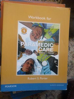 Paramedic Care EMT Workbooks for Sale in Fairfax, VA