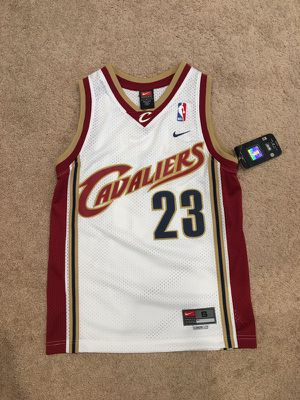 buy popular 315d8 fb164 Lebron James Nike Cavaliers Rookie Jersey BOYS/YOUTH size ...
