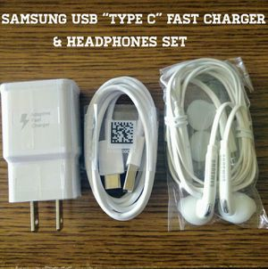 """Samsung """"Fast"""" Accessory Set For Galaxy S8, S8+, S9, S9+, Note 8 for Sale in Alexandria, VA"""