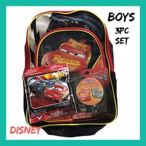 Photo NWT Boys Disney Cars 3pc Gift Set