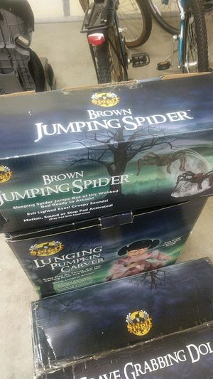 spirit halloween brown jumping spider for sale in chicago il