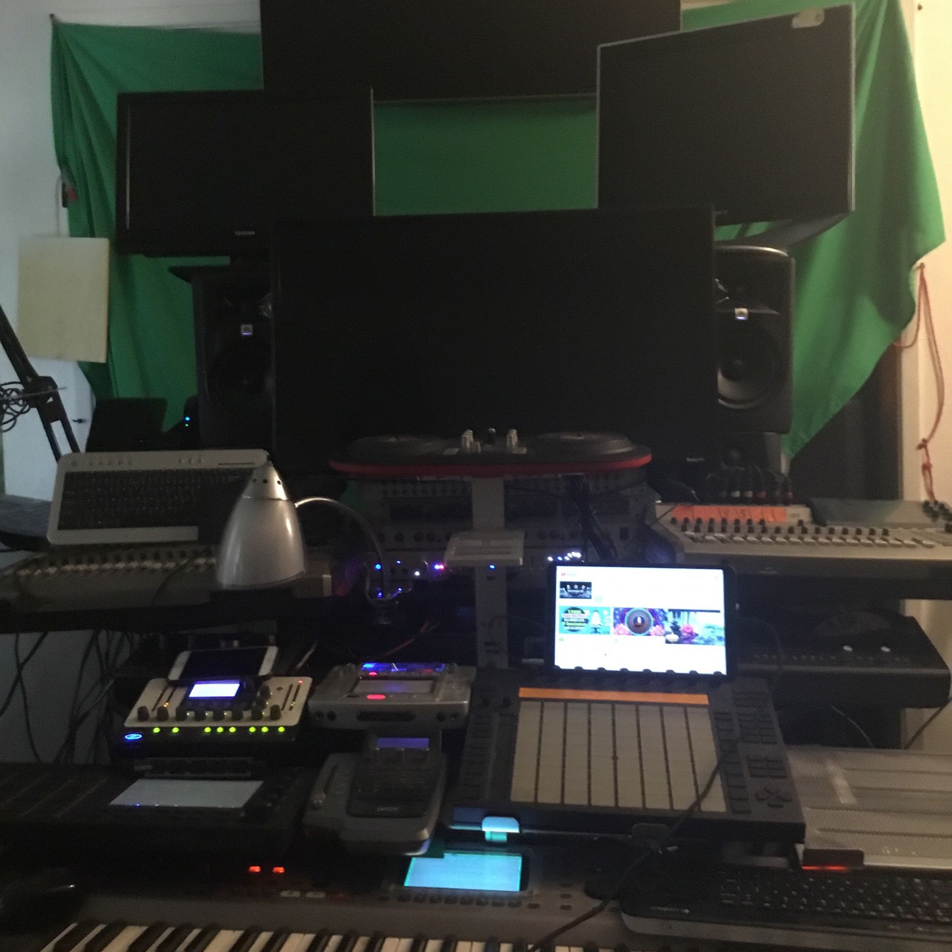 Professional Recording, Mixing, Mastering & Production. Got A Song In Your Heart? Get In The Booth Now!