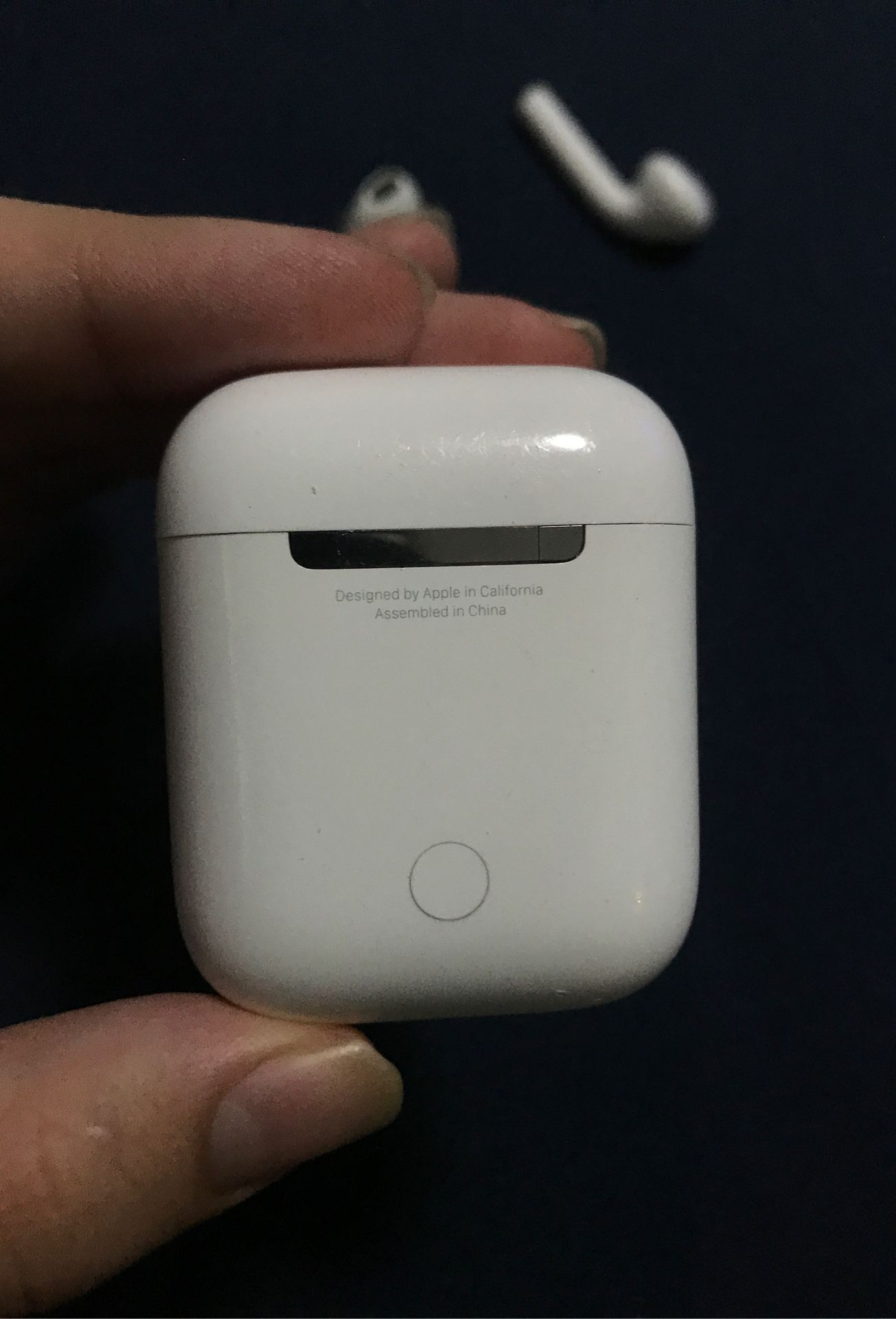 Authentic apple AirPods from California $50 form on price