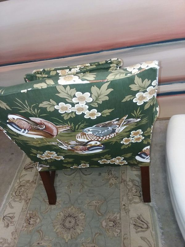 Set Of 2 Upholstery Duck Hunting Arm Chairs Furniture In Savannah Ga Offerup