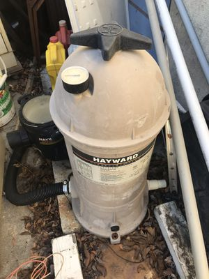 Pool filters and spa pump , variable speed pump for Sale in Los Angeles, CA