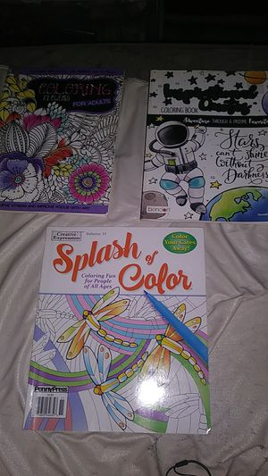 Adult coloring books for sale  Wichita, KS