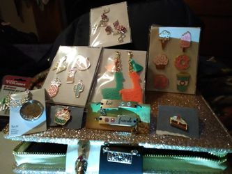 Charms,bracelets,earrings,necklace,and any kind of jewelry you can want! Thumbnail