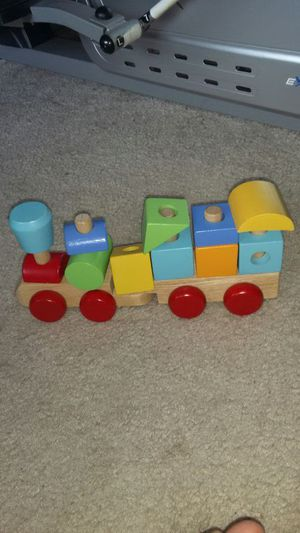 Stockable Baby Toy Train for Sale in Alexandria, VA