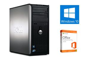 8GB Ram Wi-Fi Dell Computer Tower Windows 10 Office 2016 Free Delivery for Sale in Orlando, FL