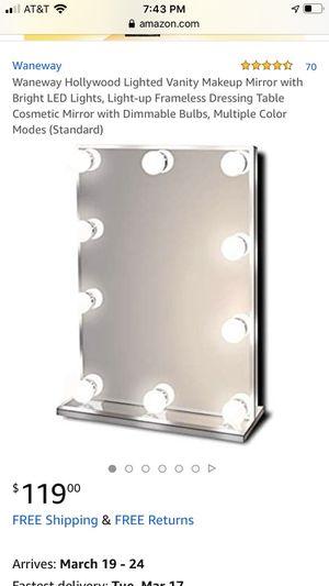 Photo Waneway Hollywood vanity makeup mirror