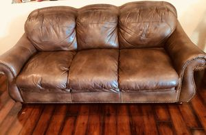 Leather sofa for Sale in Phoenix, AZ
