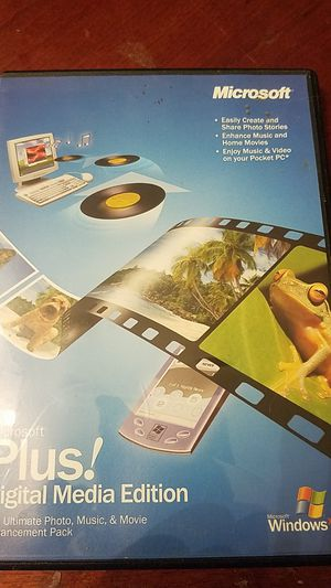 Microsoft plus!digital media edition for Sale in Port Richey, FL