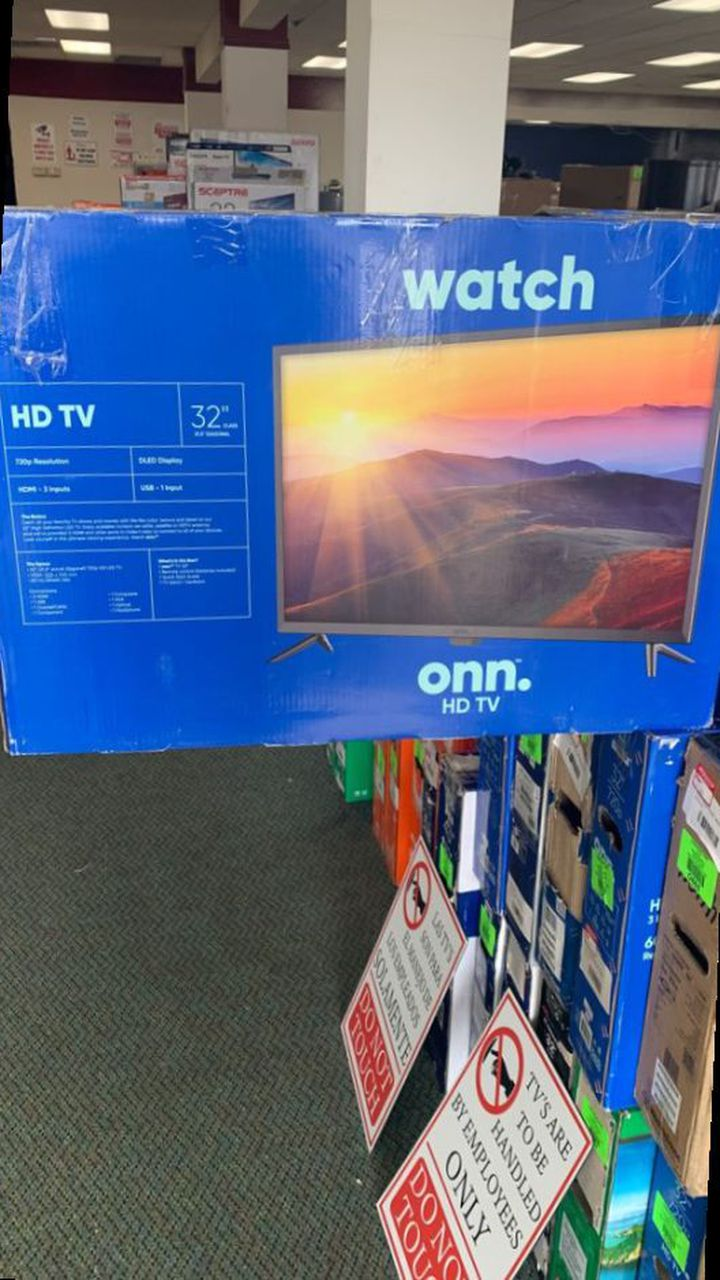 "ONN REGULAR TV (non smart TVs) 32"" prices vary  OIB"