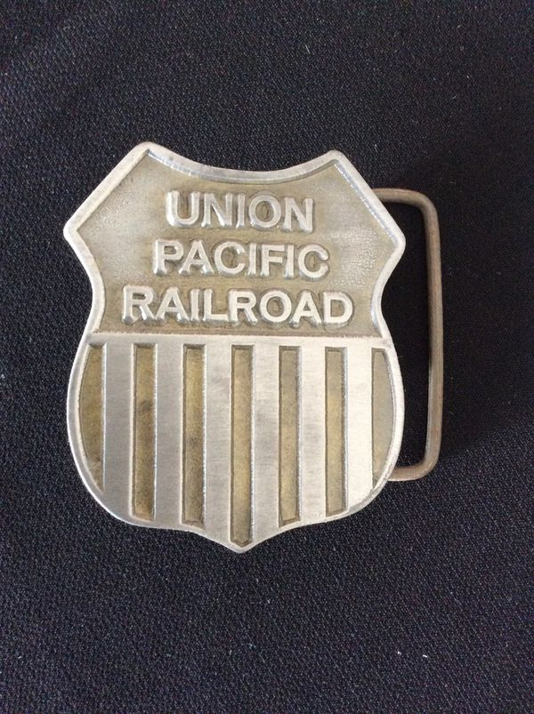 Union Pacific Railroad Belt Buckle - Great Condition for Sale in Temecula,  CA - OfferUp