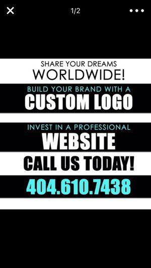 Professional Website Design and Custom Logo for Sale in Atlanta, GA