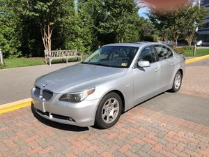2004 BMW 525I New body Style.Auto, Low Milage 121,000, AC, Power Windows, Power Lock, Power Sunroof, Leather Seats, Power Seats, Heated Seat, Alarm,A for Sale in McLean, VA