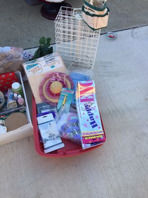 Large lot of crafting box for Sale in Saint Charles, MD