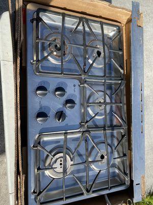 Photo GE profile gas range stove top / make offer