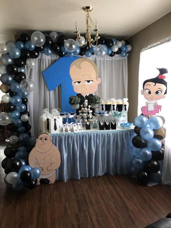 Boss Baby Party Decorations Birthday Boy For Sale In Tampa Fl Offerup