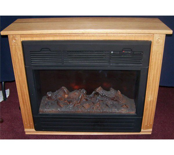 Amish Made Heat Surge Electric Fireplace Model Adl 2000m X For