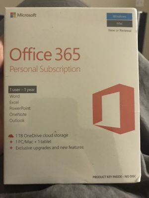 Office 365 sealed (unopened) - $50 for Sale in Seattle, WA