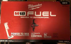 Milwaukee drill mixer for Sale in Orlando, FL