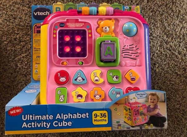 Vtech Ultimate Alphabet Activity Cube Target Best Of Alphabet