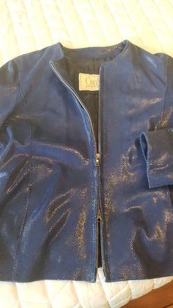 Woman Leather jacket Thumbnail