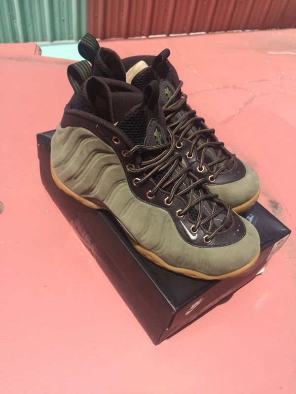 25d8dc6ecc Foamposite one olive 9/10 for Sale in Los Angeles, CA - OfferUp