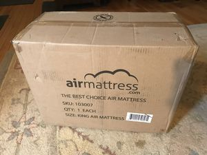 King Size Air Mattress ( new in box) for Sale in Arlington, VA