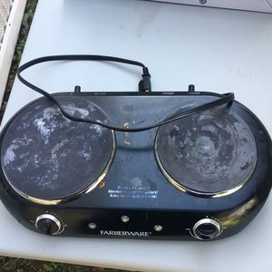 Two burner grill only once use for Sale in Dallas, TX