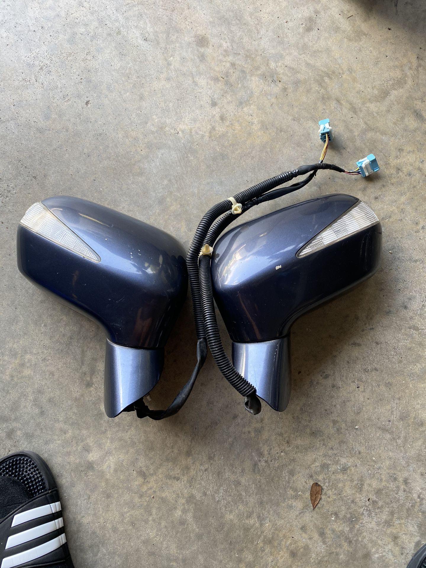 06-11 Honda Civic hybrid Mirrors