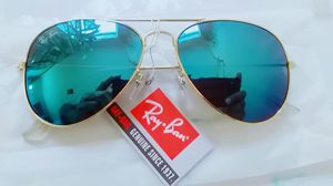 0a4c1a3fc4 Rayban Green Glass Gold Frame Aviator Unisex Sunglasses for Sale in Norcross