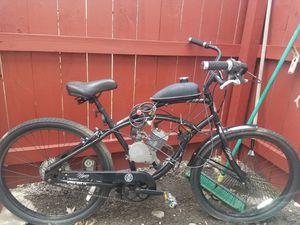 Photo Gas motor cruiser bike