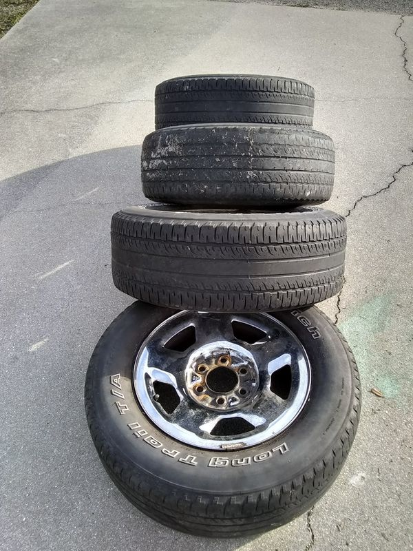 Set Tires And Wheels For Ford F  Lug Pattern Size  For Sale In Fort Myers Fl Offerup