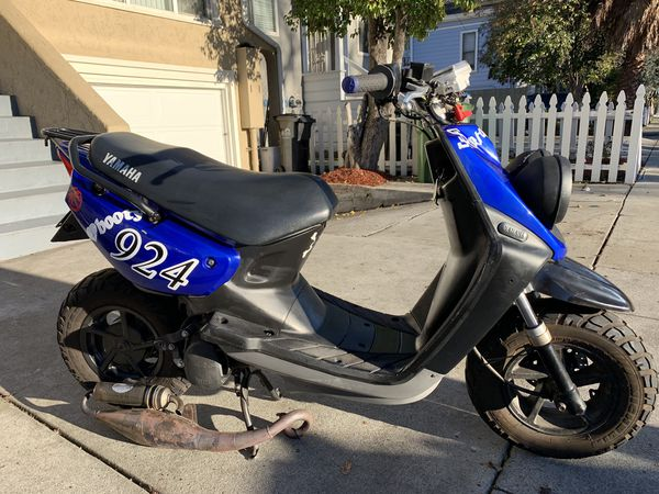 Yamaha Zuma has a 75 big bore kit pro taper bars exhaust for Sale in San  Jose, CA - OfferUp