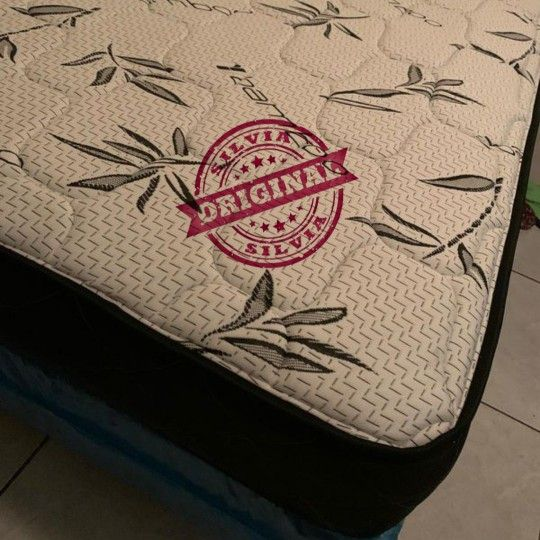 QUEEN MATTRESS  PILLOW TOP COMFORT 👸 ALL BED SIZES AVAILABLE KING QUEEN FULL TWIN 👸BED FRAME NOT INCLUDED COLCHONES CAMAS NUEVOS MATTRESS BED