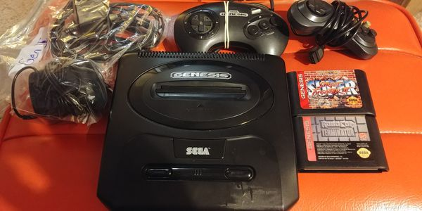 Sega Genesis with 2 games for Sale in Seattle, WA - OfferUp