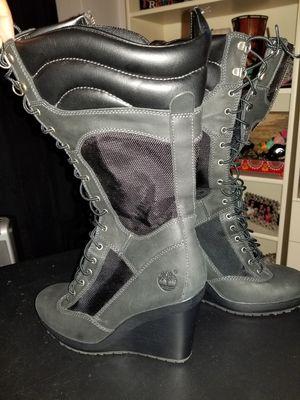 Timberland Women Tall Black Boots for Sale in Atlanta, GA