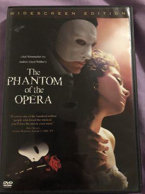 The Phantom of the Opera, DVD for Sale in Salt Lake City, UT