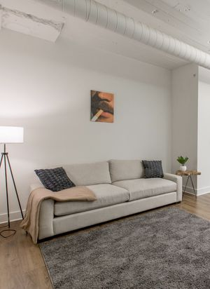 Arhaus couch / sofa modern, simple, clean and cozy DROP OFF for Sale in Cleveland, OH