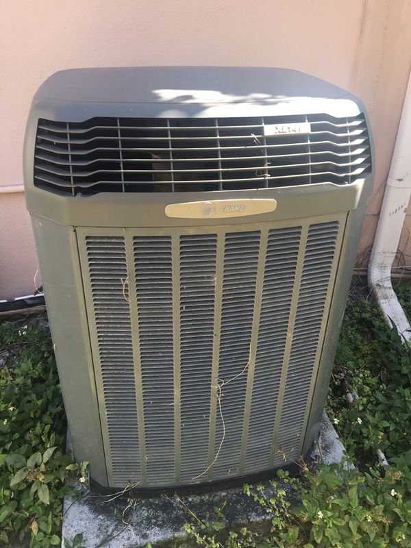 AC Trane XL14i condenser and air handler for Sale in Fort Lauderdale, FL -  OfferUp