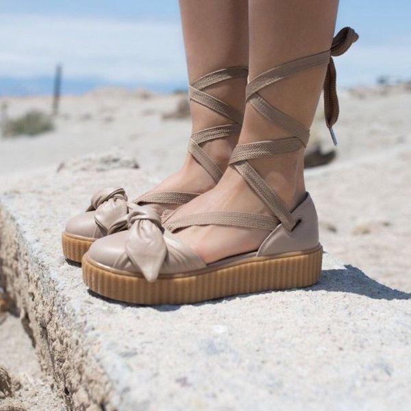 49581c61382 FENTY x PUMA Bow Creeper Sandals for Sale in Suffolk
