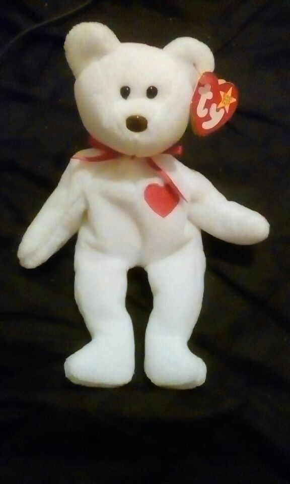 3c312fb9c7c Rare Valentino beanie baby with multiple hang tag and tush tag errors ...