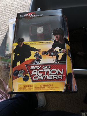 Spy go action camera for Sale in Severn, MD
